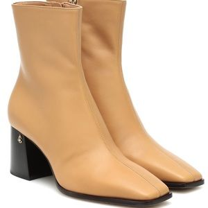 JIMMY CHOO Bryelle 65 leather boots, size 39.5